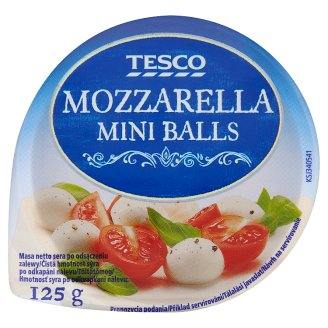 Tesco Mozzarella Mini Balls 125g