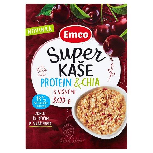 Emco Super Porridge Protein & Quinoa with Chocolate 3 x 55g