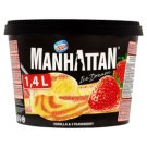 Manhattan Ice Dream Strawberry - Vanilla Ice Cream 1400ml