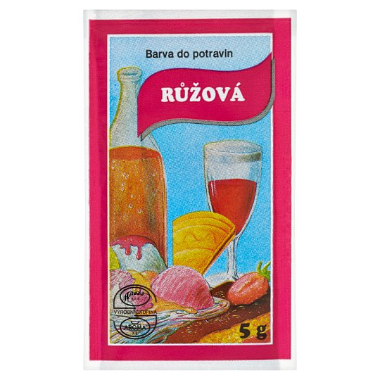 Pink Food Colour 5g (Aroco)