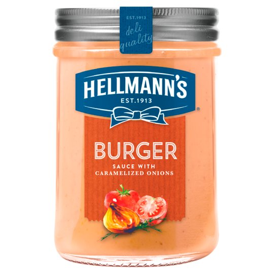 Hellmann's Sauce for Meat Burger 190ml