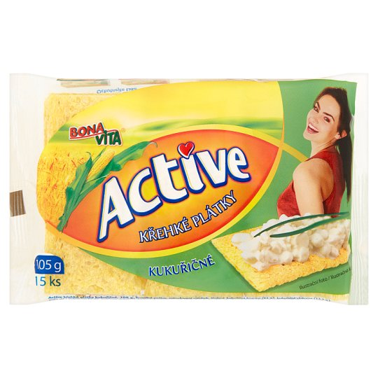 Bona Vita Active Crisp Corny Slices 15 pcs 105g