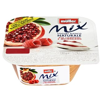 Müller Mix Raspberry & Pomegranate 150g