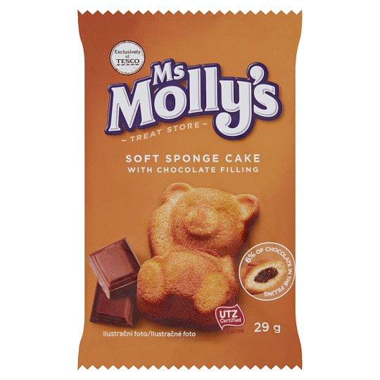 Ms Molly's Jemné pečivo s čokoládovou náplní 29g