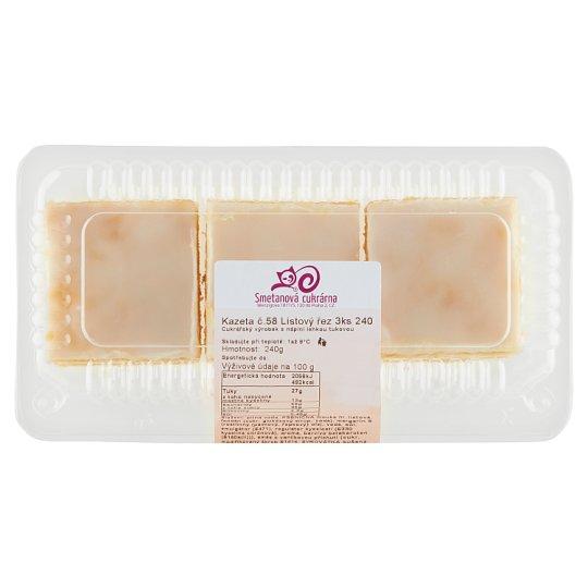 Smetanová Cukrárna Cassette No. 50 Leaf Cut 3 pcs 240g