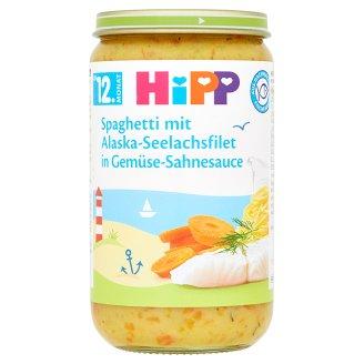 HiPP Špagety s treskou a zeleninou ve smetanové omáčce 250g