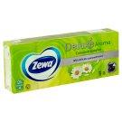 Zewa Deluxe Camomile Comfort papírové kapesníčky 10 x 10 ks