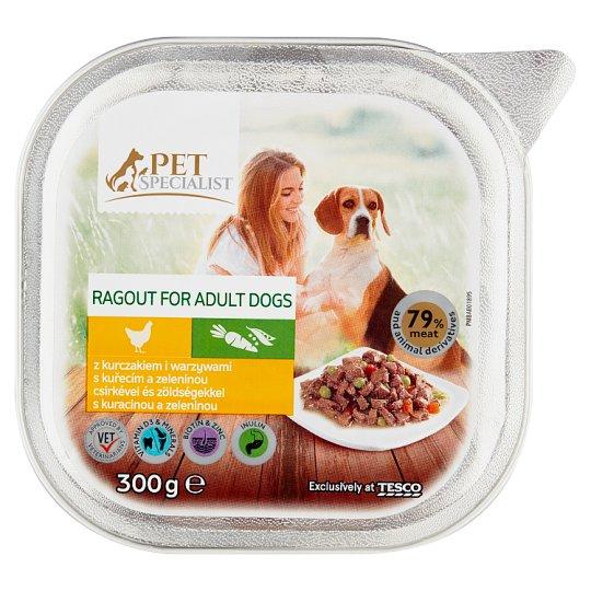 Tesco Pet Specialist Ragú s kuřecím a zeleninou 300g