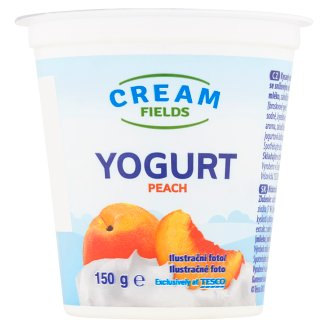 Cream Fields Yogurt Peach 150g