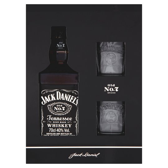 Jack Daniel's Tennessee Whiskey Gift Set 0.7L