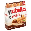 Nutella B-ready Crispy Wafer Filled with Spread of Hazelnuts with Cocoa and Crisps 6 x 22g
