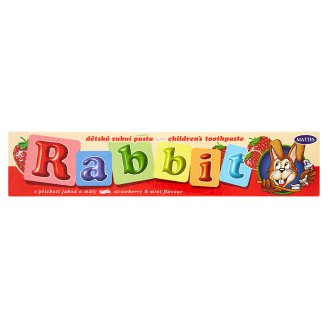 Mattes Rabbit Children's Toothpaste with Flavours of Strawberry and Mint 45g