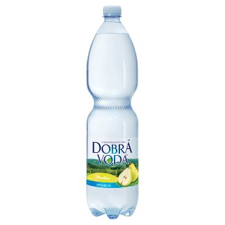 Dobrá voda Neperlivá s příchutí hruška 1,5l
