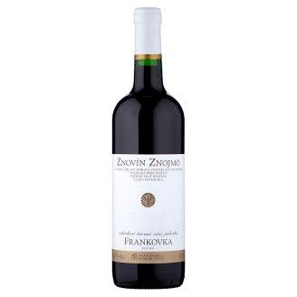 Znovín Znojmo Frankovka 2015 odrůdové červené víno jakostní suché 0,75l