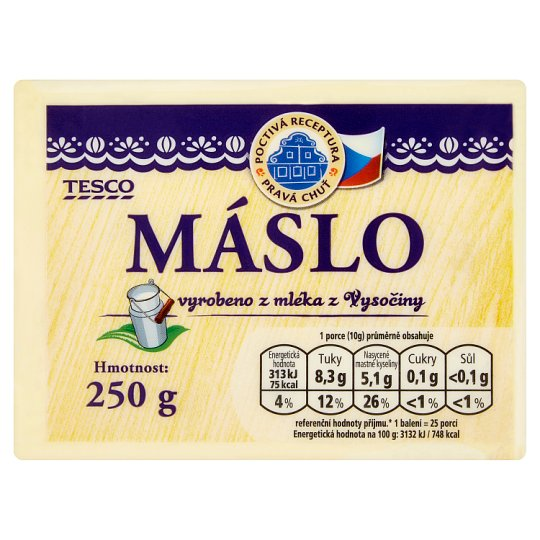 Tesco Butter 250g