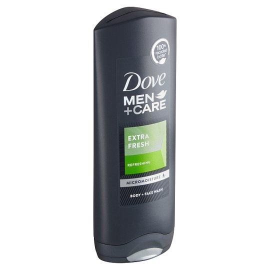 Dove Men+Care Extra Fresh sprchový gel na tělo a obličej pro muže 250ml