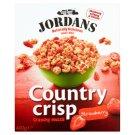 Jordans Country Crisp obilné lupínky s lyofilizovanými jahodami 400g