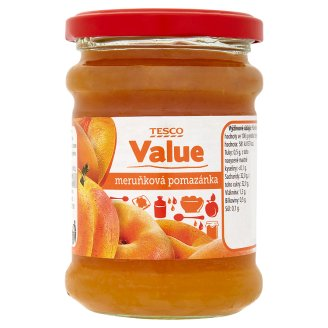 Tesco Value Apricot Spread 270g