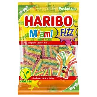 Haribo Fizz Miami želé s ovocnými příchutěmi 85g