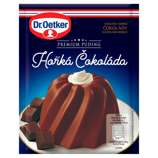 Dr. Oetker Premium Pudding Dark Chocolate 52g