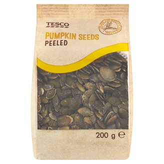 Tesco Pumpkin Seeds Peeled 200g