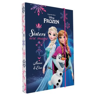 Disney Frozen Box na sešity A5