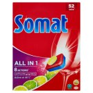 Somat All in 1 Lemon & Lime Dishwasher Tablets 52 pcs 936g