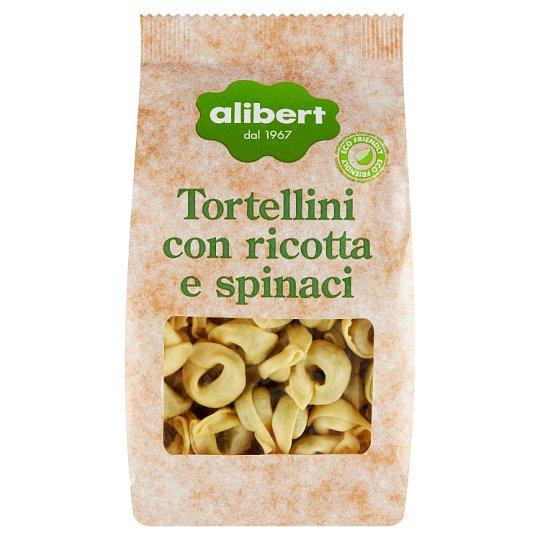 Alibert Tortelloni plněné ricottou a špenátem 250g