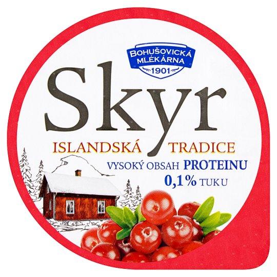 Bohušovická mlékárna Skyr brusinka 140g