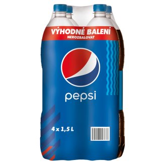 Pepsi Cola 4 x 1,5l