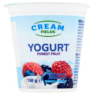 Cream Fields Yogurt Forest Fruit 150g