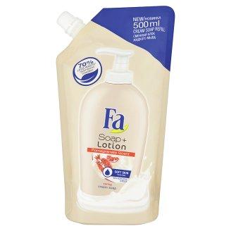 Fa Soap + Lotion Pomegranate krémové mýdlo náhradní náplň 500ml