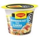MAGGI 5 minutes Bramborová kaše s příchutí slaniny kelímek 51g