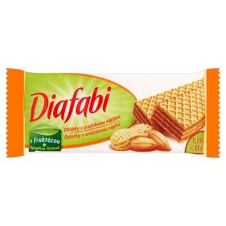 Pečivárne Liptovský Hrádok Diafabi oplatky s arašídovou náplní 35g