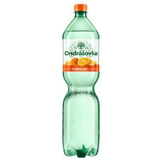 Ondrášovka Jemně perlivá minerální voda s příchutí pomeranč 1,5l