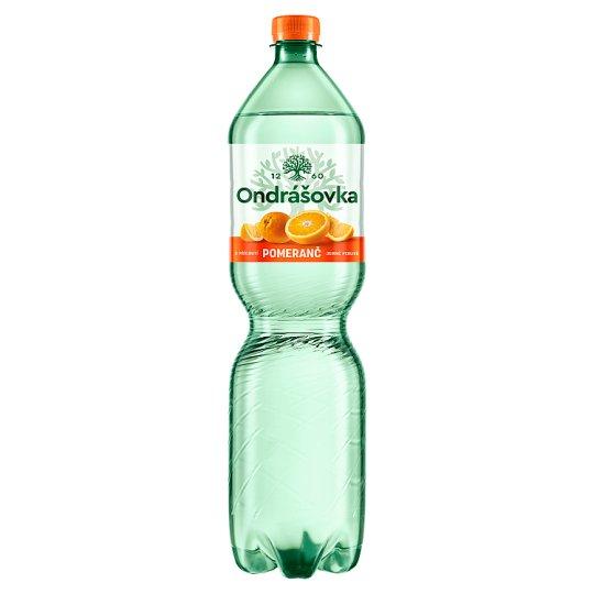 Ondrášovka Orange Carbonated Mineral Water Flavored 1.5L