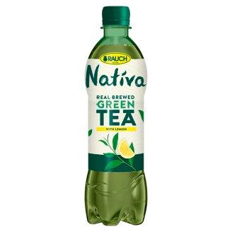 Rauch Nativa Zelený čaj s citrónem 0,5l