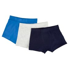 image 2 of F&F Boys' Blue Boxers 3 pcs in Pack, 9-10 Years, Blue