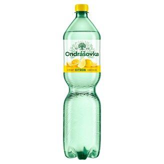 Ondrášovka Jemně perlivá minerální voda s příchutí citronu 1,5l