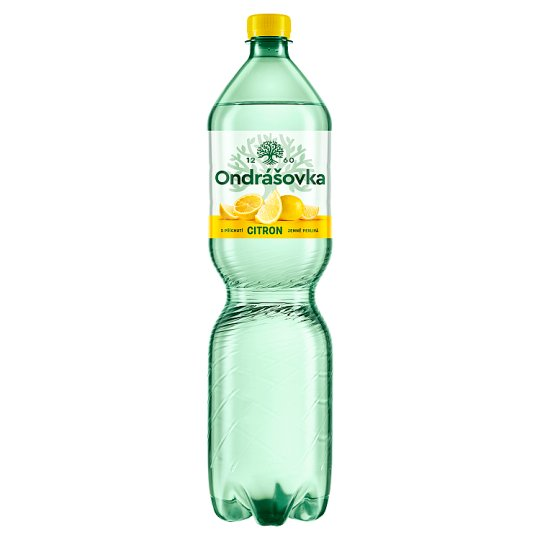 Ondrášovka Carbonated Soft Drink with Lemon Flavoured 1.5L