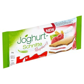 Kinder Joghurt-Schnitte Raspberry 28g
