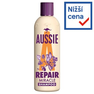 Aussie Repair Miracle Šampon Pro Poškozené Vlasy 300 ml
