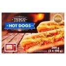 Tesco Hot Dogs 2 x 150g