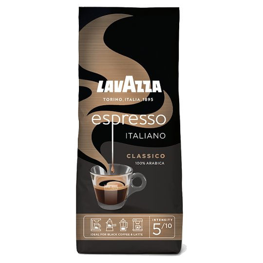 Lavazza Caffé Espresso pražená zrnková káva 250g