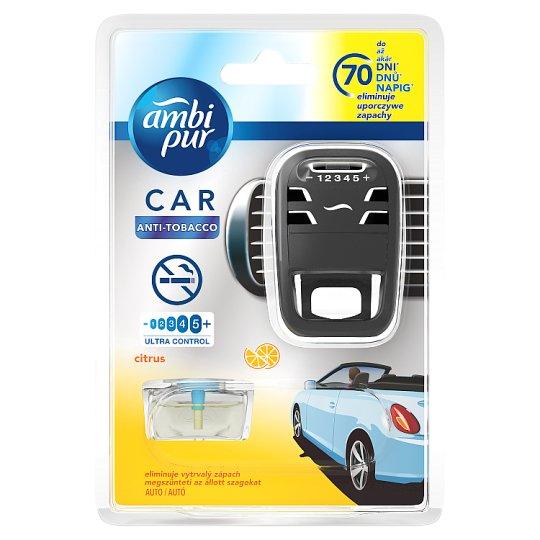 Ambi Pur Car Anti Tobacco Osvěžovač Vzduchu V Startovací Sadě 7ml