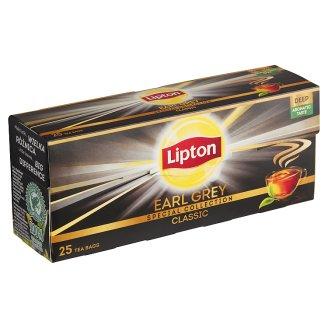Lipton Earl Grey classic černý aromatizovaný čaj 25 sáčků 37,5g