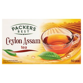 Packers Best Černý čaj Ceylon a Assam 50 x 1,75g