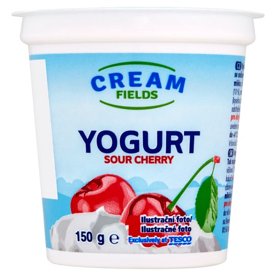 Cream Fields Yogurt Sour Cherry 150g
