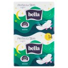 Bella Perfecta Ultra Thin Breathable Sanitary Pads with Wings Night 7 + 7 pcs
