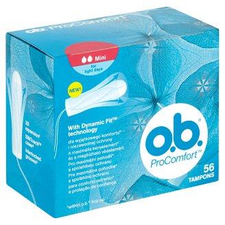 O.B. ProComfort Mini tampony 56 ks
